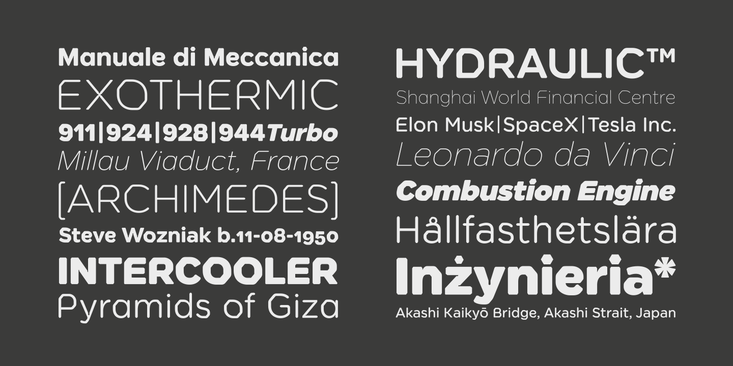 Meccanica - Not Another Geometric Sans